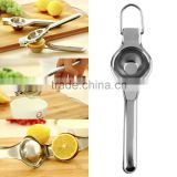 Kitchen Bar Stainless Steel Lemon Orange Lime Squeezer Juicer Hand Press Tool