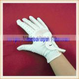 quality exquisite custom PU synthetic golf glove logo design different material