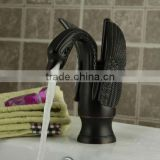 Franco Swan Style Antique Oil Rubber Bronze Single Lever Bathroom Basin Mixer Tap QH2012R