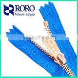 RORO 2016 metal zipper for handbag gartments