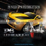 Extremely Bright G7 Car Led Headlight Conversion Bulb Kit 55W h4 h8 h7 HB3 HB4 H13 9004 9007 H16 9012 D1 D2 D3 D4 P6 car