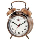 Retro mechanical alarm clock, green product, decorative clock