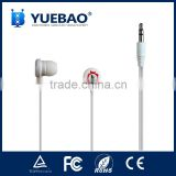 gift promotional earphone with logo imprint                                                                         Quality Choice