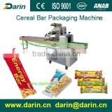 Snacks Rice Cereal Bar Pillow Packaging Mahine, Agent Needed.