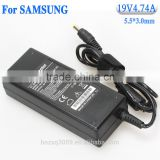 Shen zhen factory price 19v 4.74a charger for Sumsung 90w ac dc power adaptor with 5.5*3.0mm plug