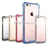 hybrid transparent TPU+PC armour case for iPhone 5