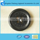 round black natural fashion design corozo nut suit button