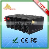 Manufacturer 25KM 10/100M fiber optic to coaxial Converter
