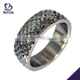 High quality custom stainless steel men spikes ring                                                                         Quality Choice