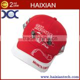 Customized Six penels Cottons Sport baseball cap hat wholesale embroidered hat