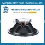 good quality aluminum chassis 12 inch woofer used in entertainment ktv or outdoor performance