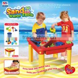 2015 Lianhua Children Plastic Beach Table Toy Sand & Water Table With Board Water Game Toy Set