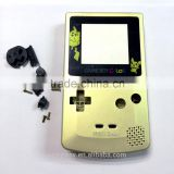 Gold color Full Housing Shell for Nintendo Game boy Color GBC OEM Repair
