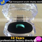 Jewelry Beautiful Clear Acrylic Crystal Ring Boxes