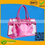 pvc jelly tote bag candy handbag
