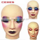 Salon Professional Practice Training female makeup Mannequin Head for Training Eyelash Extension