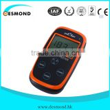 9V dry battery portable negative ion tester for fabric, powder, ceramic ball