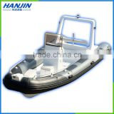 580 luxury inflatable rib boat