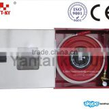 Steel Fire Hose Reel Cabinet with Polyester or PVC Hose