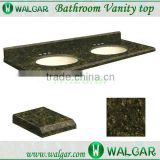 Beautiful hottest product ubatuba green granite bathroom vanity top                                                                                                         Supplier's Choice