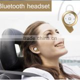 New Mini Wireless HD Stereo Bluetooth Headset Headphones Cellphone Earphone for iPhone 3 Colors Gold Black Silver