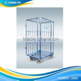Supermarket use trolley warehouse/cargo cart