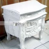 Rococo French Furniture - Antique Reproduction Rococo Nightstand