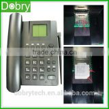 High Quality 3G WCDMA dual sim card gsm fwp fixed wireless desktop phone 850/900/1800/1900/2100MHZ