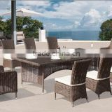 Cheap price patio furniture outdoor dining set garden rattan furniture                                                                         Quality Choice