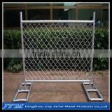 (17 years factory)100ft 6'x10' conctruction temporary chain link fence panels with stands