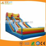 Cheap outdoor inflatable castle game water slide inflatables