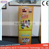 Manufacturer coin exchange machine,vending change bills to coins token