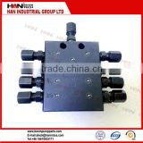 distributor grease 8 HOLE concrete pump spare parts for sany putzmeister schwing cifa junjin ihi