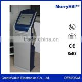 Free Standing Self-service Terminal 15/17/19/21.5 Inch Ticket Printer Touch Screen Kiosk
