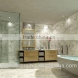 Frameless shower enclosure tempered glass enclosed shower cubicles