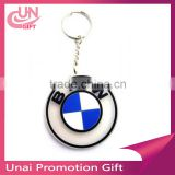 2016 Newest BMW Rubber Key Ring Car Logo Rubber Keychain Wholesale
