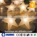 party fairy lights battery operated five-pointed star LED christmas string lights