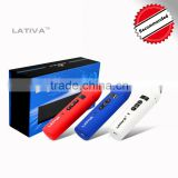 china wholesale electronic cigarette dry herb vaproizer pen from MOONSOON LATIVA with ceramic chamber heating coil