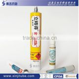 Manufacturer of glue tube, Collapsible aluminum tube, Adhesive glue tube, CFDA/ ISO certificate