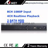 shenzhen joney 16ch 720P/960P/1080P realtime recording & playback onvif NVR 16 channel
