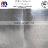 double sided woven cloth insulation aluminium composite panel price with type fiberglass material