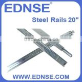 "EDNSE S20-C Adjustable 20"" Rack Rail Slides for All 19 inch Standard Chassis or Cabinet"