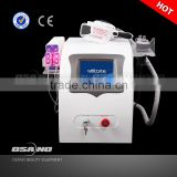 Increasing Muscle Tone LM-S650B RF And Cavitation Improve Blood Circulation Cryolipolysis Equipment For Body Sliming Beauty Machine