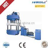 hydraulic press with four cylinder for metal pressing
