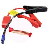 12V Connector Emergency Jumper Lead Cable Alligator Clamp Booster Battery Clips