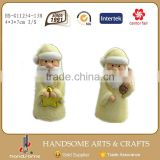 7cm China Small Gift Item Wholesale Handmade Christmas Figurine Decoration Art Supplies Santa Claus