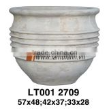 Vietnam Round High Quality White Painted Glazed For Home And Garden