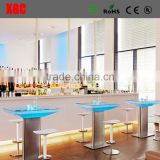 Hot Sale RGB Rechargeable Acrylic Luminous Plastic Led Furniture