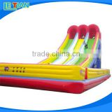 Factory custom giant slip and slide with high quality