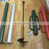 hot sale & high quality multiple support / u type pole anchor ground screw for america market